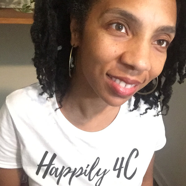 Happily 4C Natural Hair Tshirt