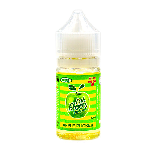 Apple Pucker Saltnic by 13th Floor Elevapors 30ml- cuttwood, juice roll upz, Vapetasia, VGOD, Vapor Juice