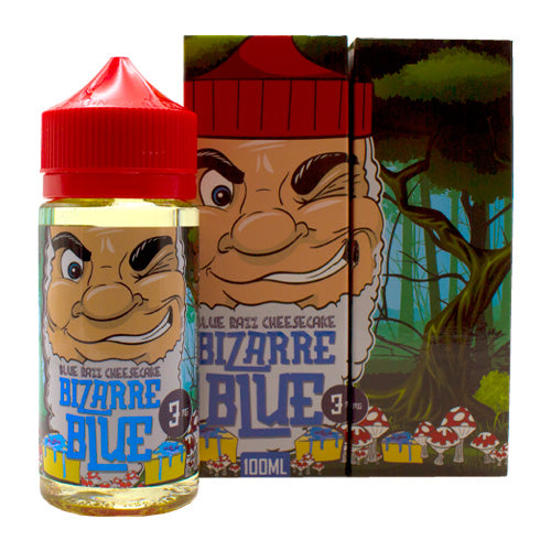Blue Razz Cheesecake by Bizarre Blue E-Liquid 100ml- cuttwood, juice roll upz, Vapetasia, VGOD, Vapor Juice