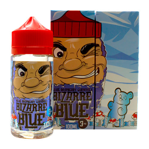 Blue Raspberry Gummies by Bizarre Blue E-Liquid 100ml- cuttwood, juice roll upz, Vapetasia, VGOD, Vapor Juice