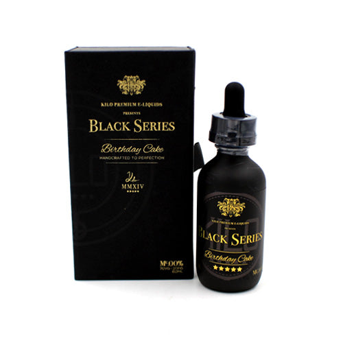 Birthday Cake by Kilo Black Series E-Liquid 60ml- cuttwood, juice roll upz, Vapetasia, VGOD, Vapor Juice