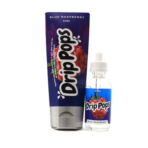 Blue Razz by Drip Pops E-Liquid 60ml- cuttwood, juice roll upz, Vapetasia, VGOD, Vapor Juice