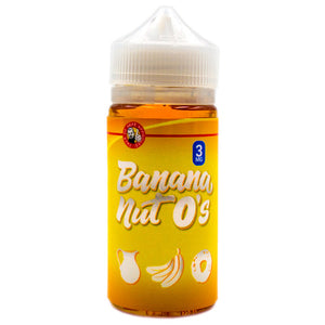 Banana Nut O's by Tasty O's E-Liquid 100ml- E-juice Vape