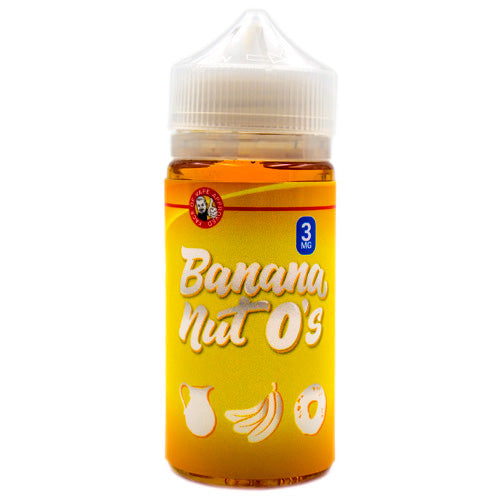 Banana Nut O's by Tasty O's E-Liquid 100ml- cuttwood, juice roll upz, Vapetasia, VGOD, Vapor Juice