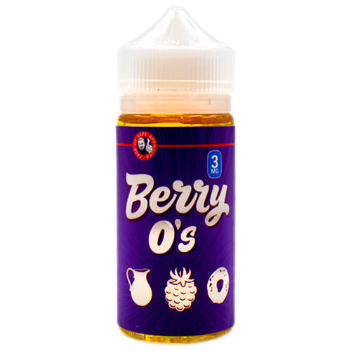 Berry O's by Tasty O's E-Liquid 100ml- E-juice Vape
