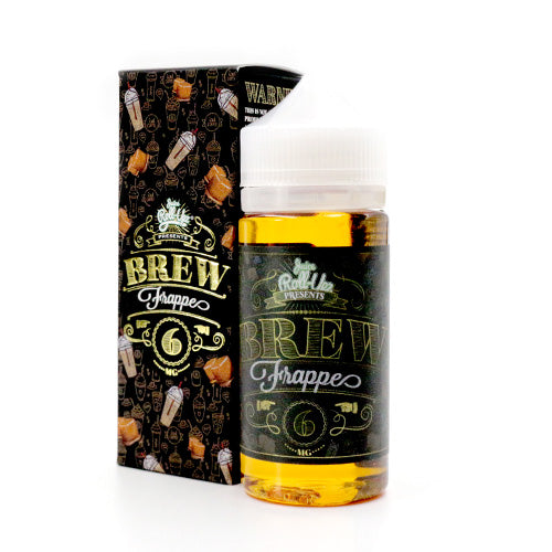 Brew Frappe by Juice Roll Upz E-Juice 100ml- cuttwood, juice roll upz, Vapetasia, VGOD, Vapor Juice