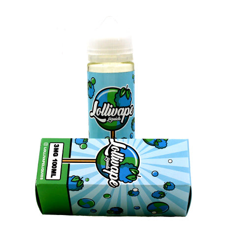 Blue Raspberry by Lollivape E-Liquids 100ml- cuttwood, juice roll upz, Vapetasia, VGOD, Vapor Juice