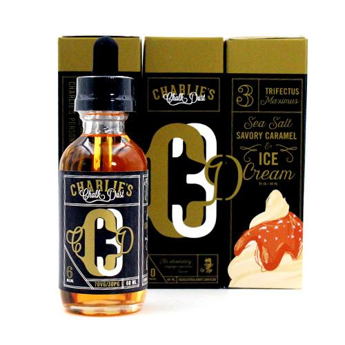 CCD3 by Charlie's Chalk Dust 60ml- cuttwood, juice roll upz, Vapetasia, VGOD, Vapor Juice