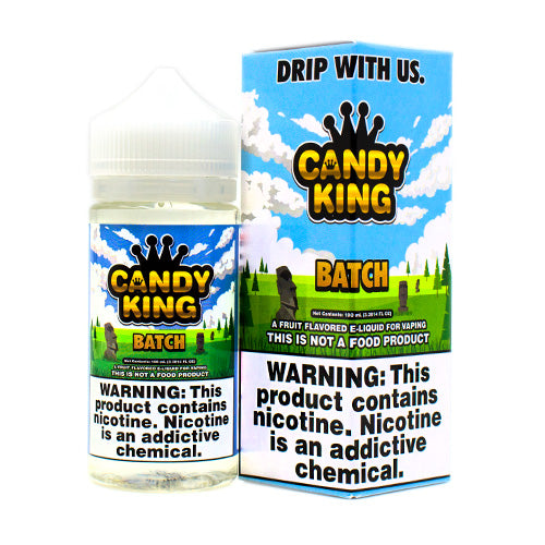 Batch by Candy King E-Liquid 100ml- cuttwood, juice roll upz, Vapetasia, VGOD, Vapor Juice