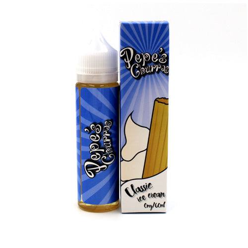 Classic Ice Cream by Pepe's Churros E-Liquid 60ml- cuttwood, juice roll upz, Vapetasia, VGOD, Vapor Juice