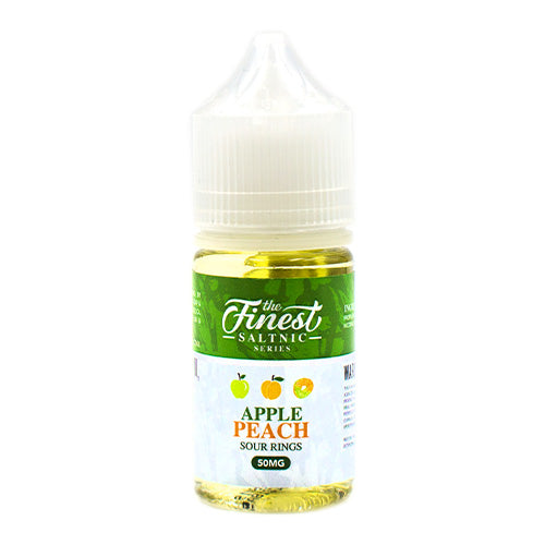 Apple Peach Sour Rings Saltnic by The Finest E-Liquid 30ml- cuttwood, juice roll upz, Vapetasia, VGOD, Vapor Juice