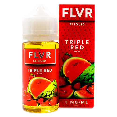 Triple Red by FLVR E-Liquid 100ml