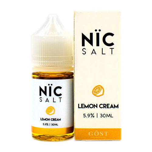 Lemon Cream Saltnic by GOST Vapor 30ml