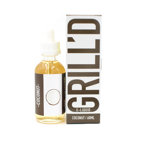 Coconut by Grill'd E-Liquid 60ml- cuttwood, juice roll upz, Vapetasia, VGOD, Vapor Juice