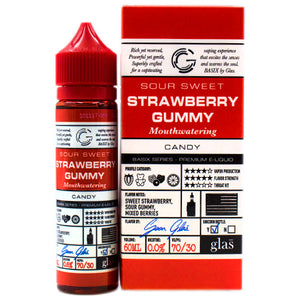 Strawberry Gummy by Glas Basix E-Liquid 60ml