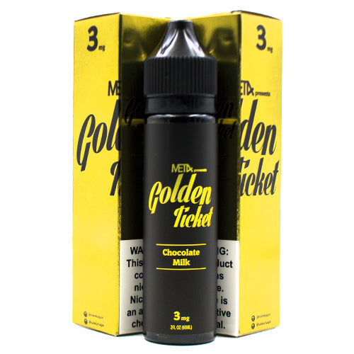Chocolate Milk by Golden Ticket E-Liquid (MET4) 60ml- E-juice Vape