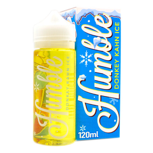 Donkey Khan Ice by Humble Co. E-Liquid 120ml- cuttwood, juice roll upz, Vapetasia, VGOD, Vapor Juice