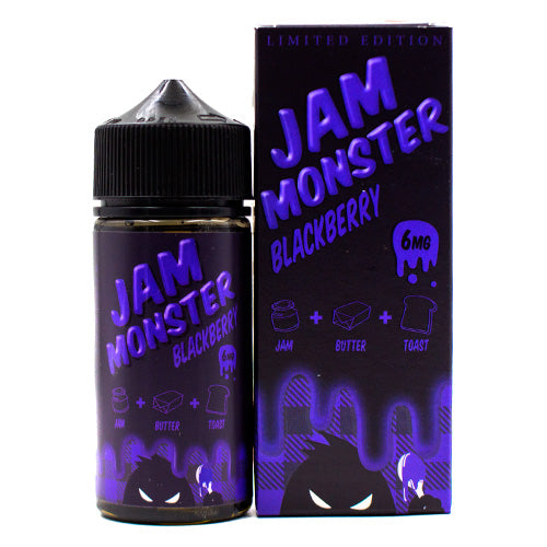 Blackberry by Jam Monster E-Liquid 100ml- cuttwood, juice roll upz, Vapetasia, VGOD, Vapor Juice