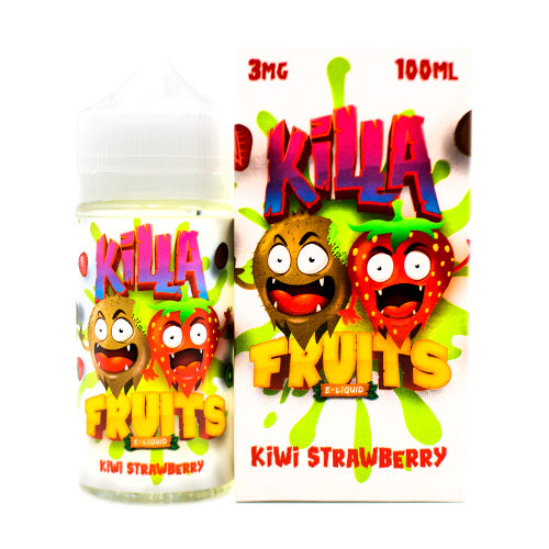 Kiwi Strawberry by Killa Fruits E-Juice 100ml