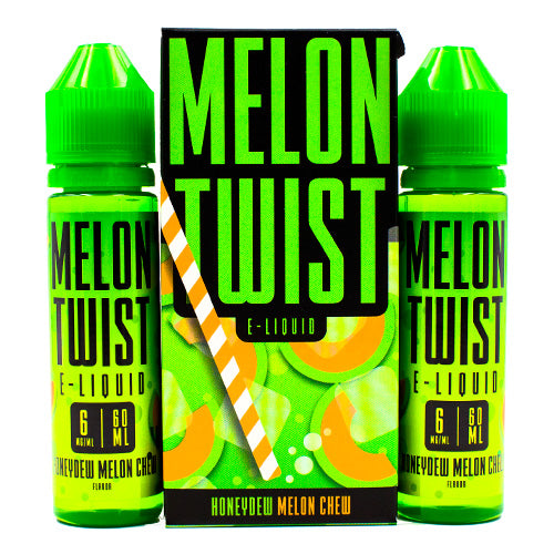 Honeydew Melon Chew by Melon Twist E-Liquid 120ml- cuttwood, juice roll upz, Vapetasia, VGOD, Vapor Juice