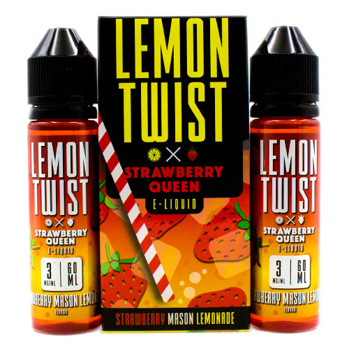 Strawberry Mason Lemonade by Lemon Twist E-Liquid 120ml