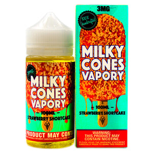 Strawberry Shortcake by Milky Cones Vapory E-Juice 45ml