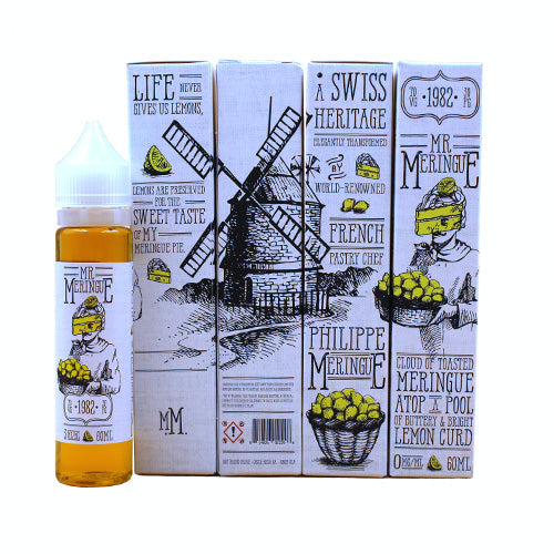 Lemon Meringue Pie by Mr. Meringue E-Juice 60ml