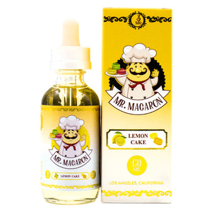 Lemon Cake by Mr. Macaron E-Liquid 60ml