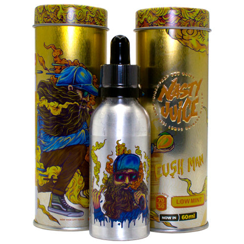 Cush Man by Nasty E-Juice 60ml- cuttwood, juice roll upz, Vapetasia, VGOD, Vapor Juice