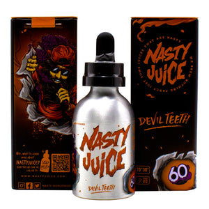 Devil Teeth by Nasty E-Juice 60ml- cuttwood, juice roll upz, Vapetasia, VGOD, Vapor Juice