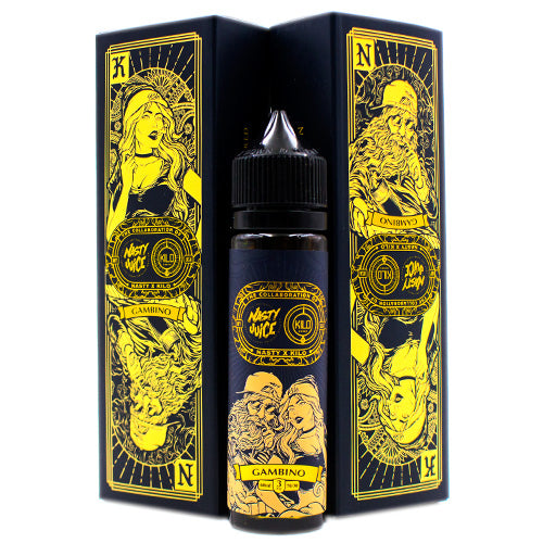 Gambino by Nasty X Kilo 60ml- cuttwood, juice roll upz, Vapetasia, VGOD, Vapor Juice