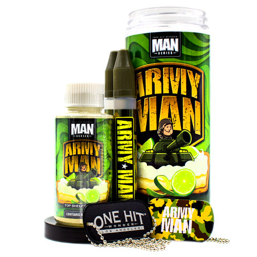Army Man by One Hit Wonder 100ml- cuttwood, juice roll upz, Vapetasia, VGOD, Vapor Juice
