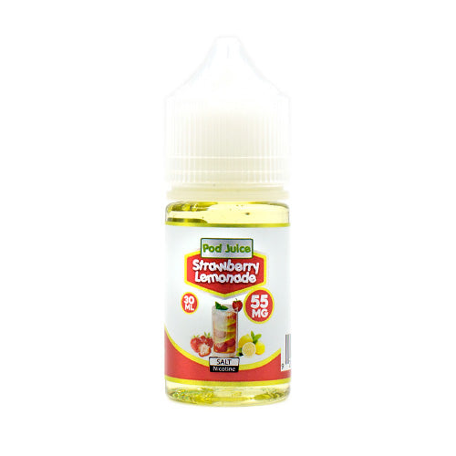 Strawberry Lemonade Saltnic by Pod Juice E-Liquid 30ml