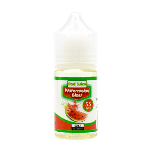 Watermelon Blast Saltnic by Pod Juice E-Liquid 30ml
