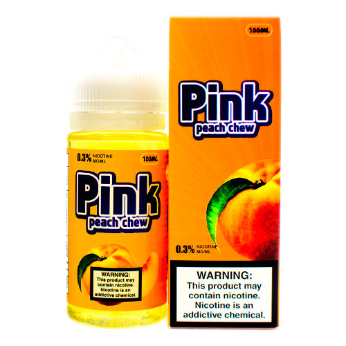 Peach Chew by Pink E-Juice 100ml