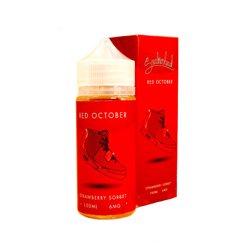 Red October by Sneakerhead E-Juice 100ml