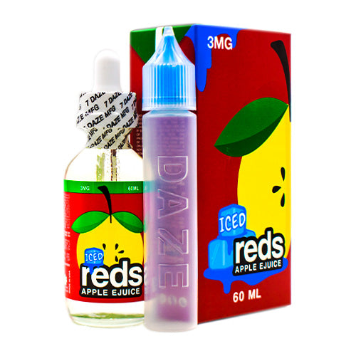 Iced Reds Apple by Reds Apple E-Juice 60ml- cuttwood, juice roll upz, Vapetasia, VGOD, Vapor Juice