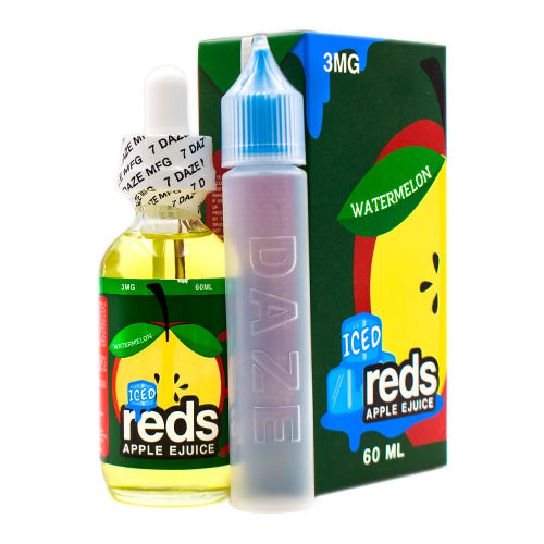 Iced Watermelon Reds Apple by Reds Apple E-Juice 60ml- cuttwood, juice roll upz, Vapetasia, VGOD, Vapor Juice