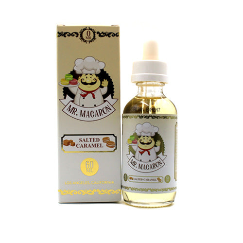 Salted Caramel by Mr. Macaron E-Liquid 60ml