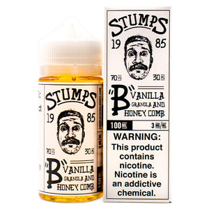 """B"" Vanilla Granola And Honey Comb by Stumps 100ml- cuttwood, juice roll upz, Vapetasia, VGOD, Vapor Juice"