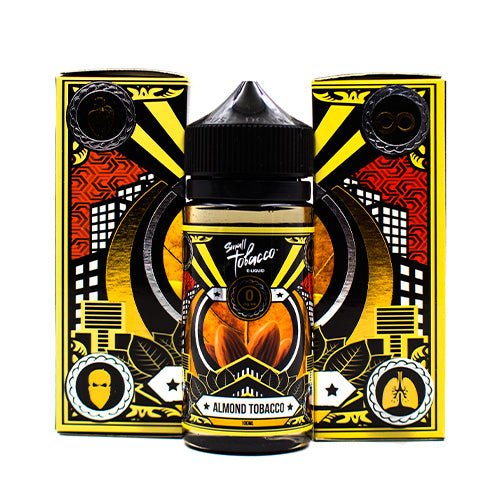 Almond Tobacco by Small Tobacco E-Liquid 100ml- cuttwood, juice roll upz, Vapetasia, VGOD, Vapor Juice