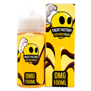 Custard Craze by Treat Factory 100ml- cuttwood, juice roll upz, Vapetasia, VGOD, Vapor Juice