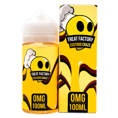 Custard Craze by Treat Factory 100ml- E-juice Vape