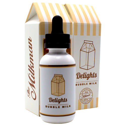 Bubble Milk by The Milkman E-Juice 60ml- cuttwood, juice roll upz, Vapetasia, VGOD, Vapor Juice