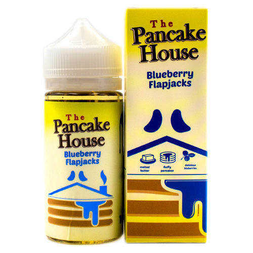 Blueberry Flapjacks by GÖST Vapor Pancake House 100ml- E-juice Vape
