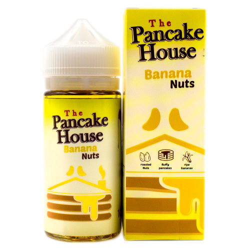 Banana Nuts by GÖST Vapor Pancake House 100ml- cuttwood, juice roll upz, Vapetasia, VGOD, Vapor Juice