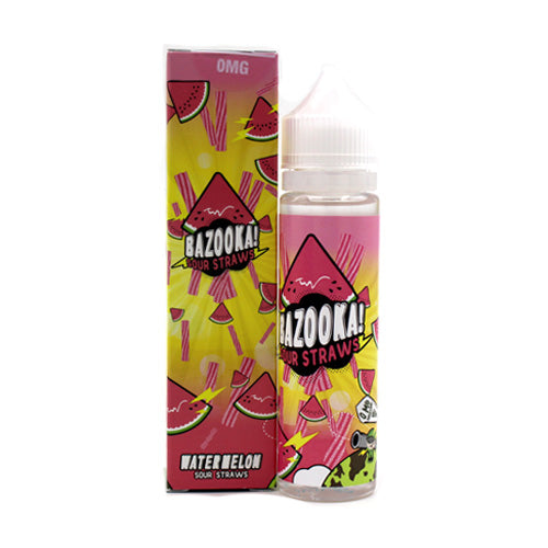 Watermelon Sour Straws by Bazooka Vape 60ml