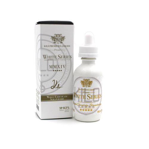 White Chocolate Strawberry by Kilo White Series E-Liquid 60ml