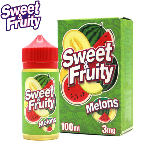 Melons by Sweet & Fruity E-Juice 100ml