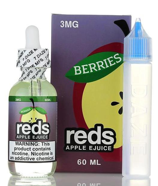 Berries Reds Apple by Reds Apple E-Juice 60ml- cuttwood, juice roll upz, Vapetasia, VGOD, Vapor Juice